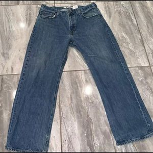 GAP Jeans MENS 36 X 30 JEANS Distressed
